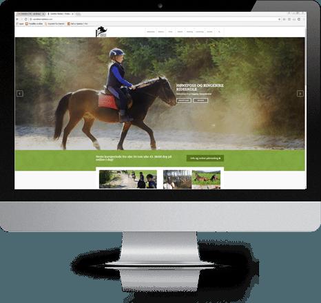 Hønefoss og Ringerike Rideklubb nye nettsider