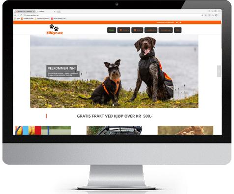 Til dyr nettbutikk for mer enn bare hunder